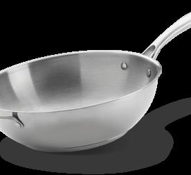 edelstahl wok